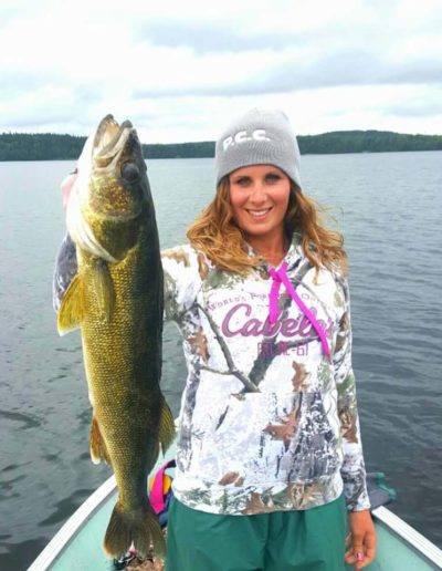 Walleye Pickerel fishing trips Perrault Falls Northwestern Ontario