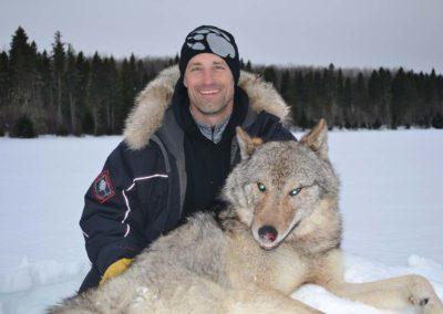 Wolf Hunt Hunting Perrault Falls Northwestern Ontario