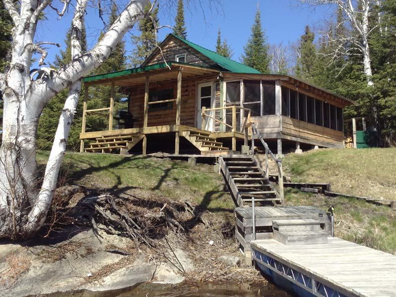 Outpost Rental Perrault Falls Northwestern Ontario